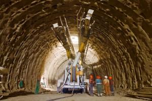 Строительство тоннеля: начало работ