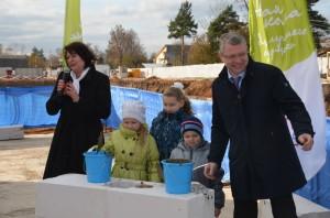 Впервые за 30 лет началось строительство школы в Пушкино