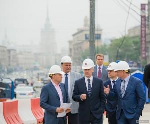 Завершение реконструкции Можайского шоссе планируется завершить через год
