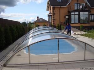 Павильон для бассейна своими руками из поликарбоната
