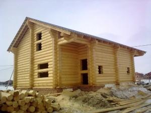 Преимущества жилых домов выполненных из бруса