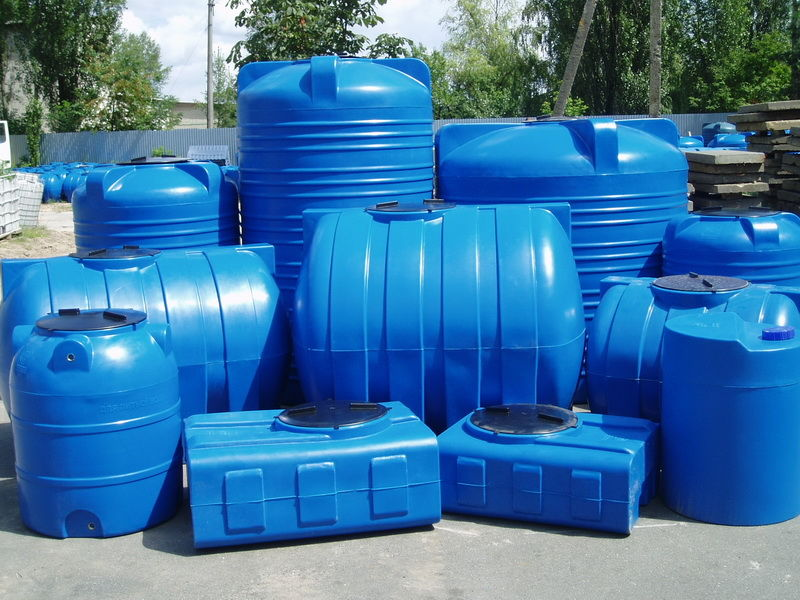 Как выбрать емкость для хранения воды