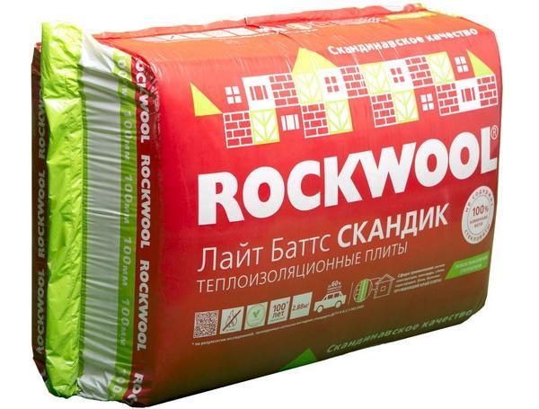 Каменная вата Rockwool Лайт Баттс