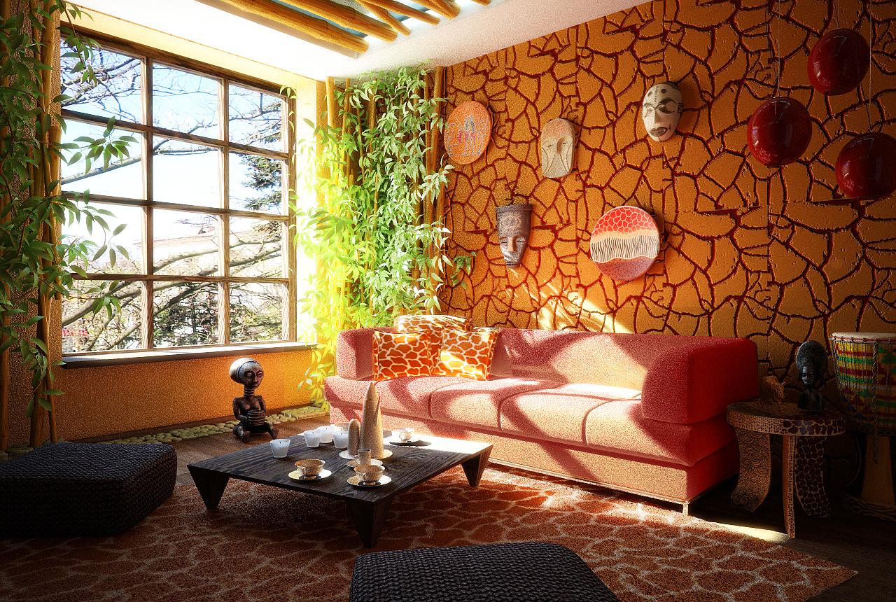 Ремонт квартиры в африканском стиле