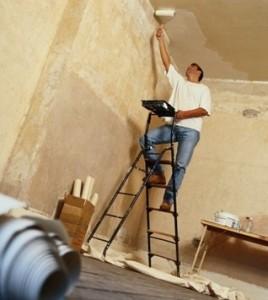 грунтовка стен и потолков