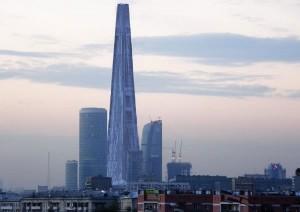 Башня Россия фото
