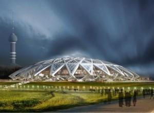 строительство стадионов к 2018 году