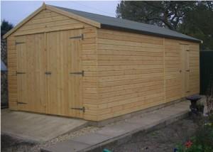 Деревянный гараж от А до Я