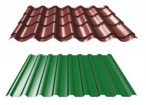 жесткая металлическая крыша