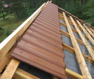 делаем крышу для бани