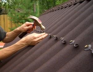 асбестовая крыша