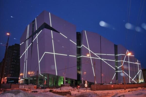 Строительство торгово-развлекательного комплекса «Авиа Парк»