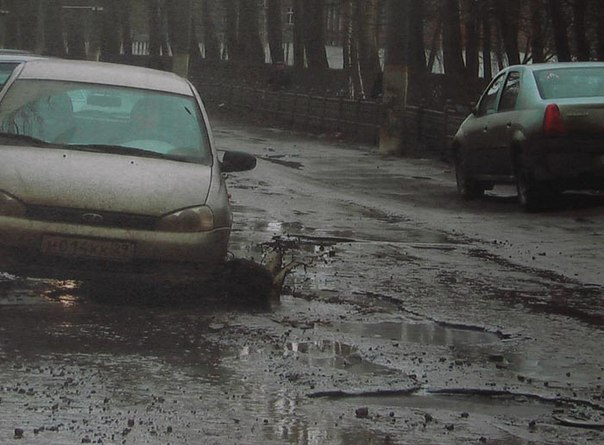 Люди в России постоянно гибнут из-за плохих дорог