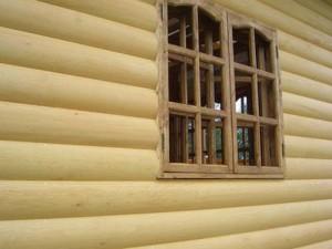 применение блок-хауса для отделки дома снаружи