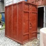 3 тонный металлический контейнер