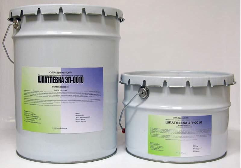 Шпатлевка эп-0010 и Эмаль хв-110 – надёжные антикоррозийные материалы