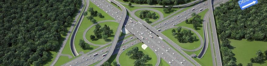 Транспортная развязка, которая расположена на Ленинском проспекте с пересечением МКАД поедет гораздо быстрее с начала сентября 2015 года