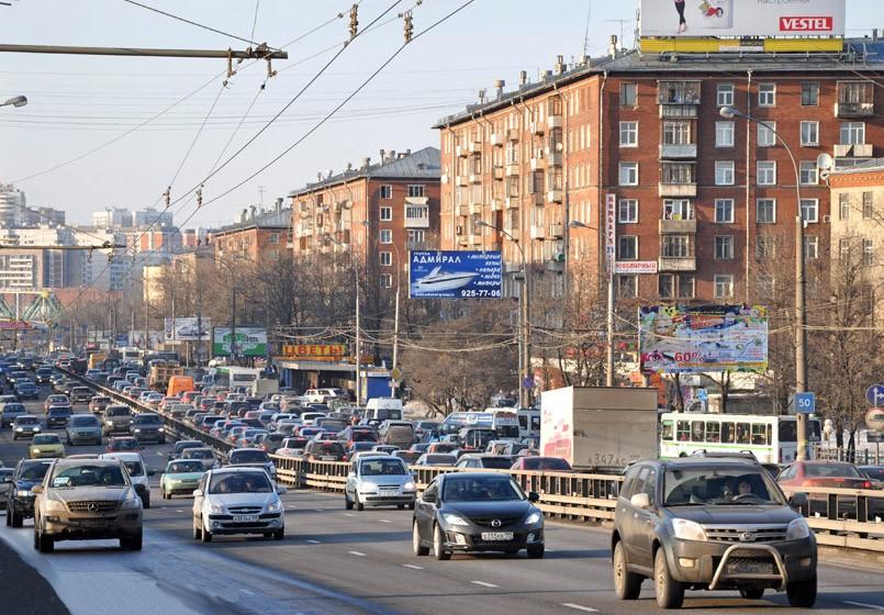 Схема движения на пересечении Дмитровского шоссе в Москве изменится