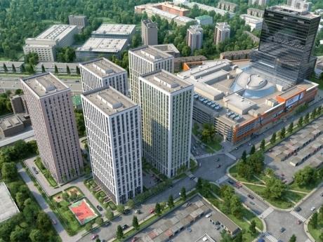 Строительство многофункционального комплекса в Москве завершится до конца 2016 года