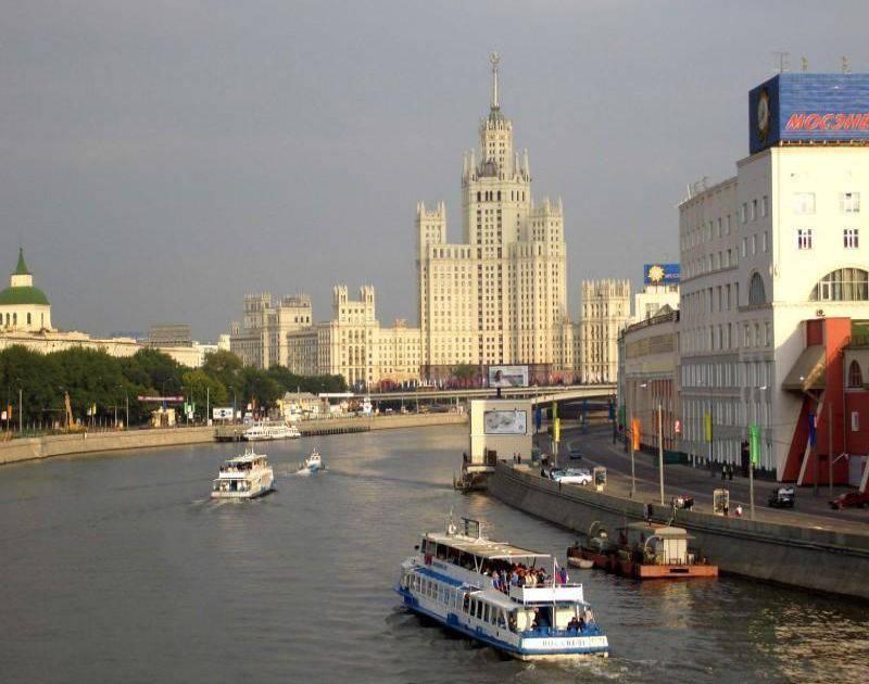 Объявляется конкурс на создание концепции территории Москвы-реки