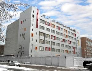 В Москве производят реконструкцию административного здания