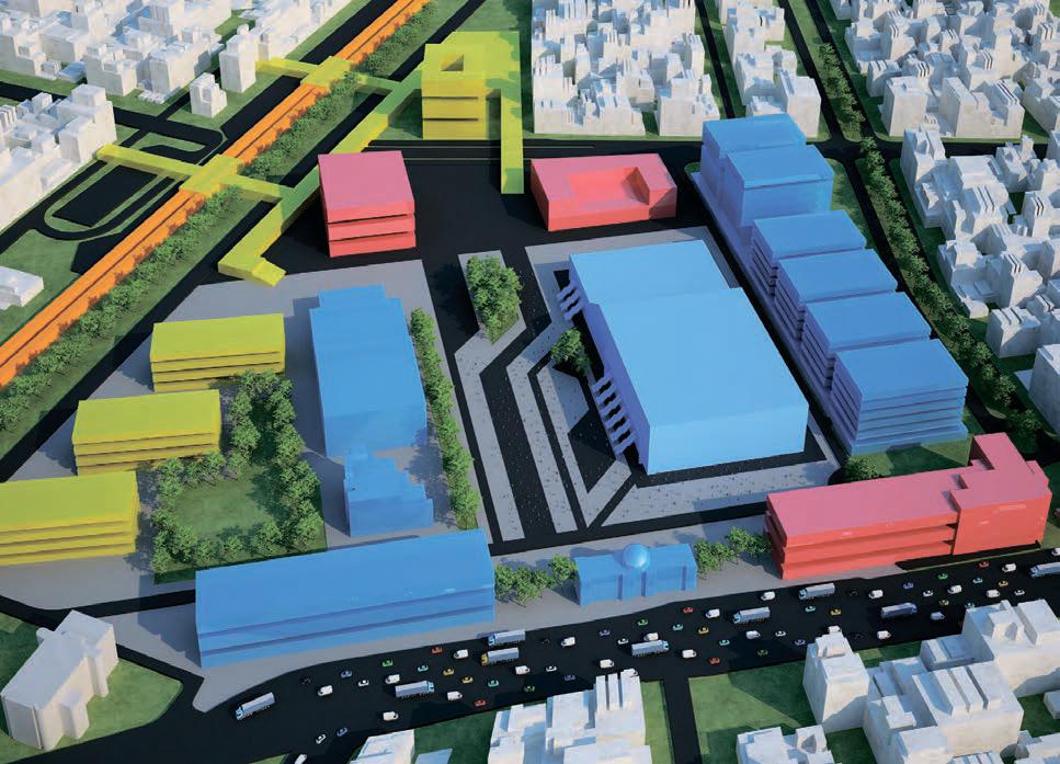 В квартале «Парк Легенд» возведут огромный крупный конгресс-центр