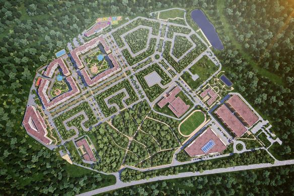 В «Новой Москве» построят жилой комплекс, который будет по площади равен 280 тысячам квадратных километров за 27.5 миллиардов рублей.