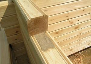 клееный брус для строительства дома или возведения стен