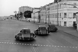 первые уборочные машины на базе а/м ГАЗ