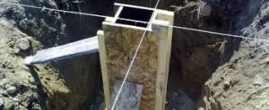 опалубка столбчатого фундамента
