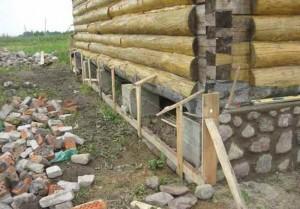 столбчатый фундамент под дом