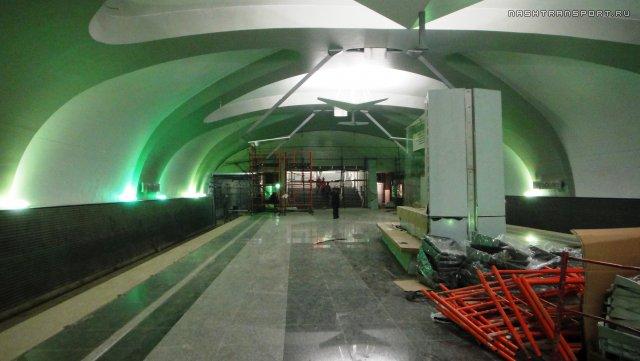 Оформление станций метро «Солнцево» и «Новопередлкино»