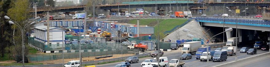 Скоро будут открыты транспортные развязки на Волгоградском проспекте, примерная дата конец 2015 года