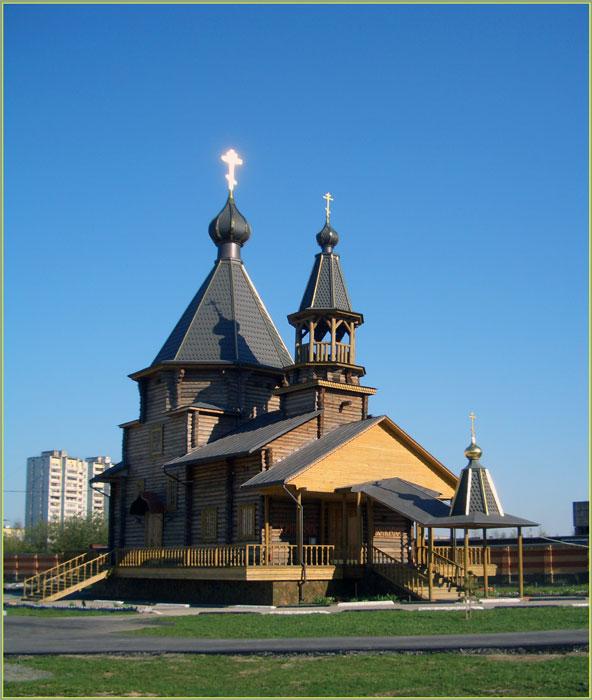 Строительные работы по возведению храмов в «Новой Москве»
