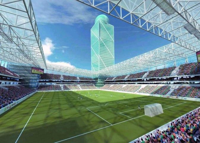 На новом стадионе «ЦСКА» установят прозрачную крышу