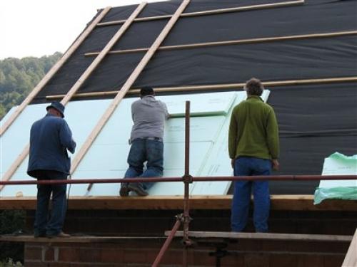 Пенополистирол для утепления крыши