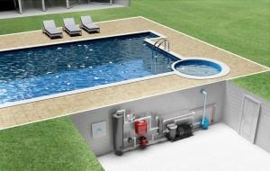 проектирование обогрева для бассейна