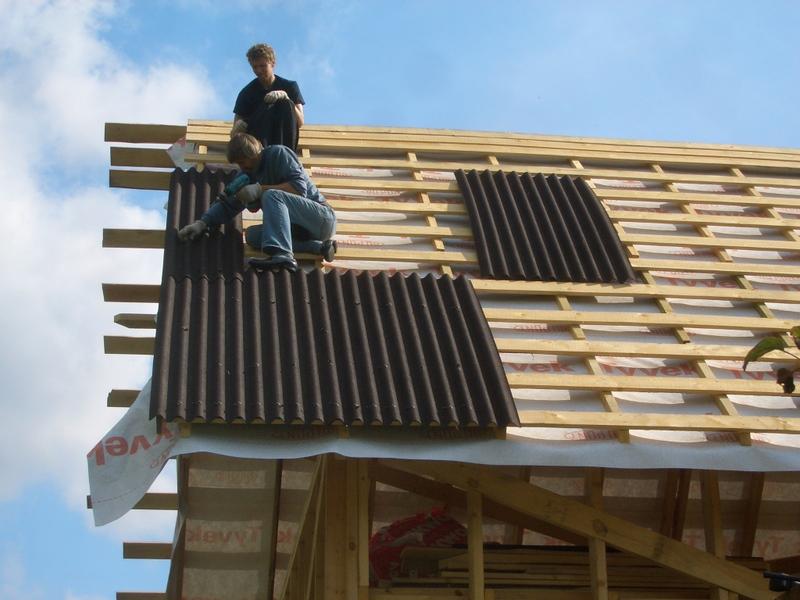 Перекрыть крышу  шифером 158