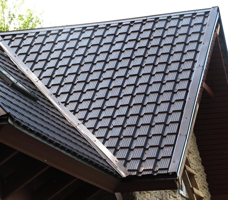 Виды металлочерепицы для крыши фото