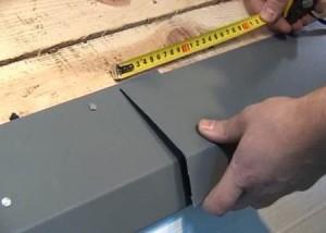 монтаж капельника при кровле металлочерепицей