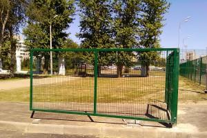 сетка рабица для ворот