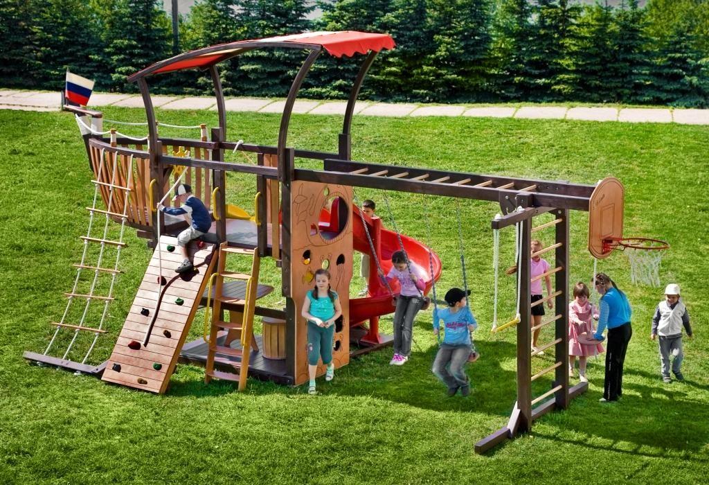 Детские спортивные площадки на даче своими руками фото