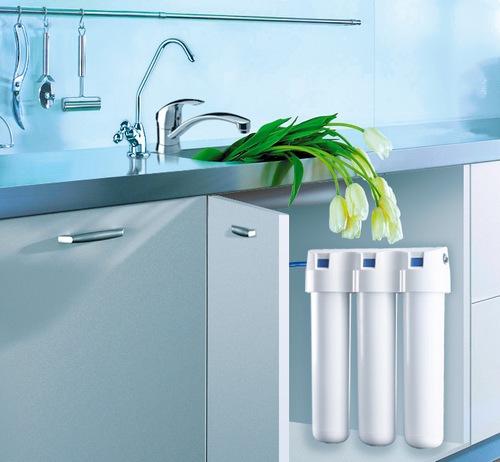 Проточный фильтр для очистки воды. Плюсы и минусы