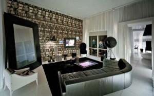 стильные дорогие диваны в интерьере