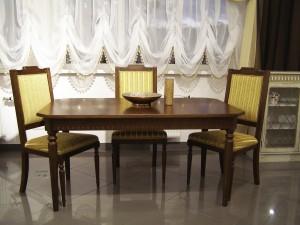 Кухонный стол из массива