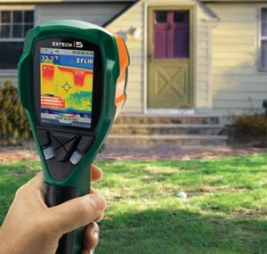 В чём заключается технология тепловизионного обследования зданий