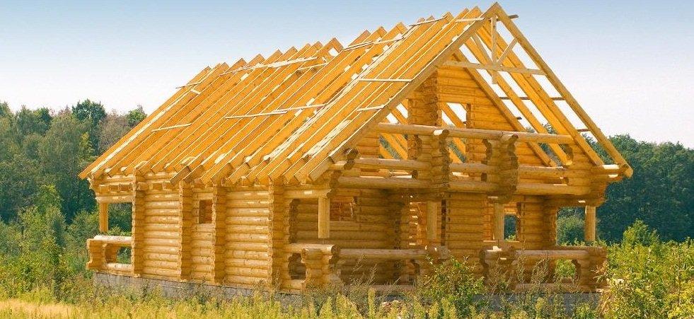 постройки деревянных домов
