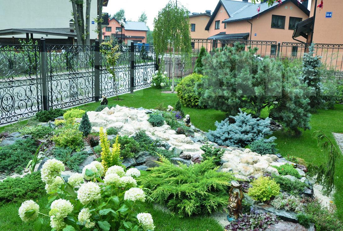 Красивый садовый участок своими руками фото 83
