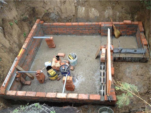 Как выкопать погреб своими руками 90