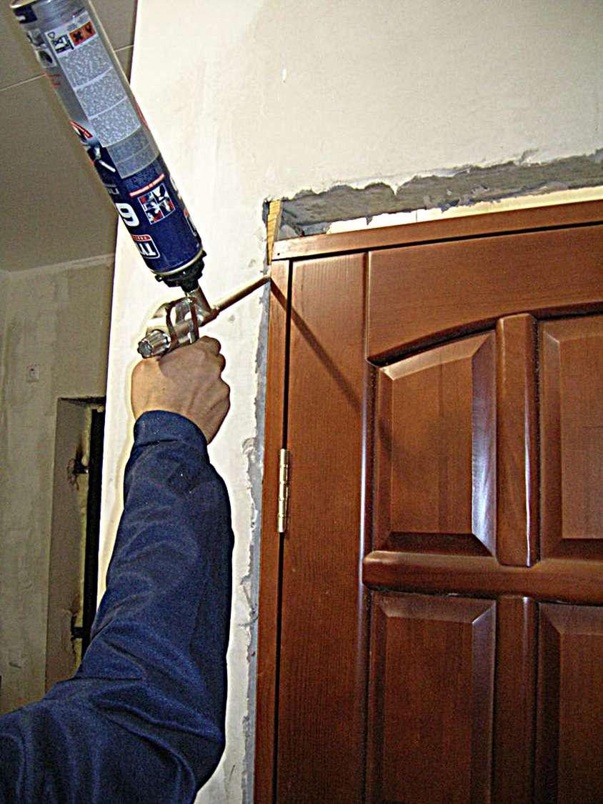 Работа своими руками дверь